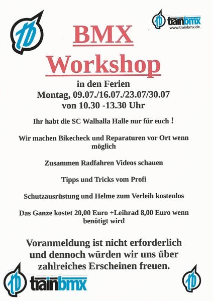 BMX Workshops 2018